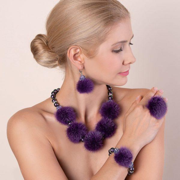 Kolekcia Noemi fialová