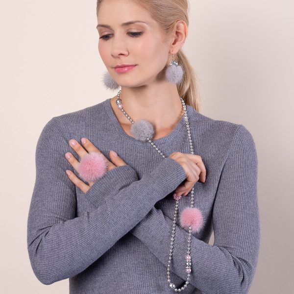 Kolekcia Noemi Duo ružovo-šedá