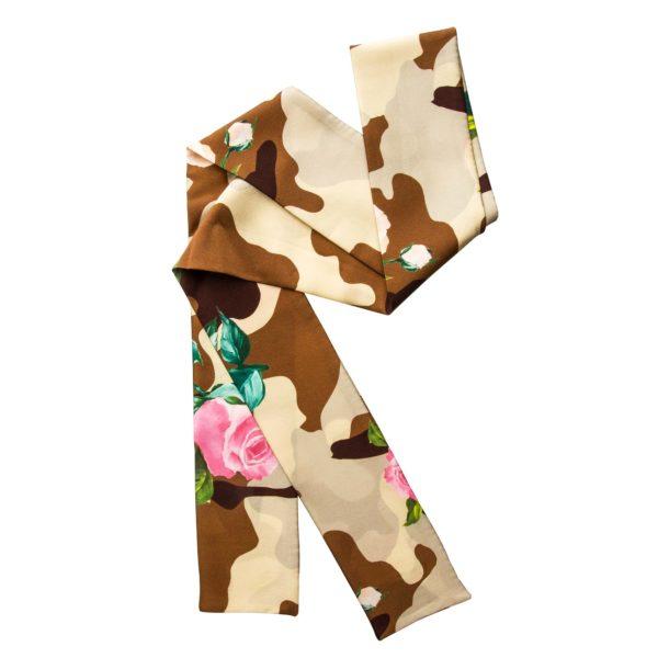 Hodvábna šatka Camouflage