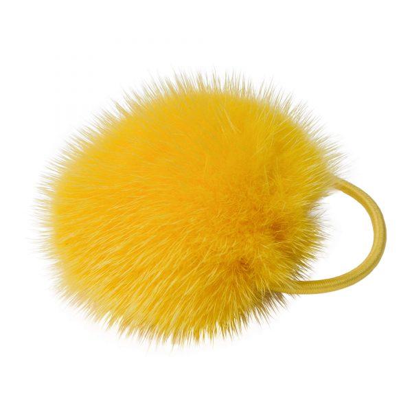 Noemi gumička do vlasov so žltou norkou