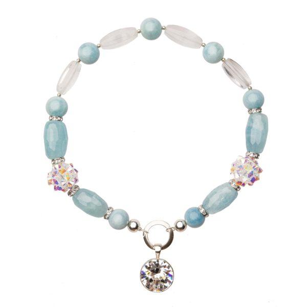 MUSE náhrdelník s akvamarínom