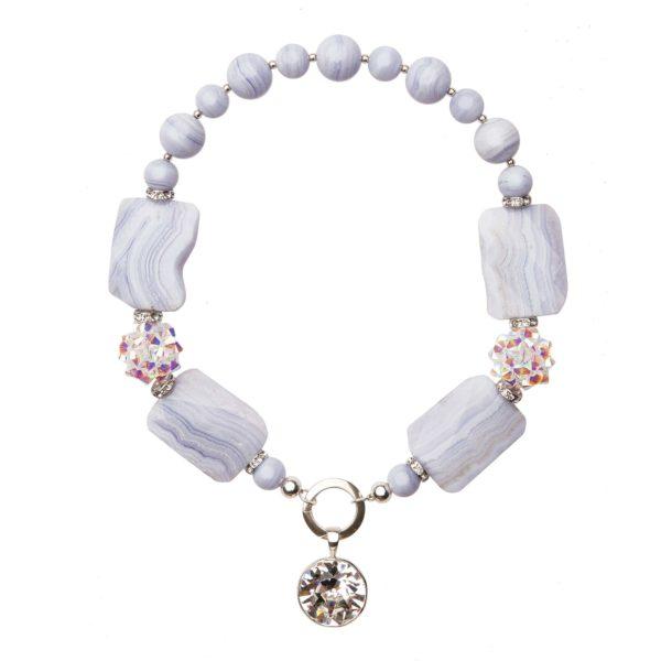 Muse náhrdelník s chalcedónom