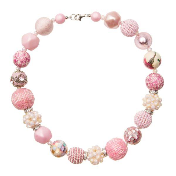 Ružový Summer náhrdelník