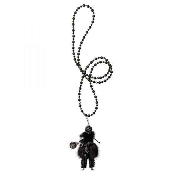 Garciela náhrdelník čierny