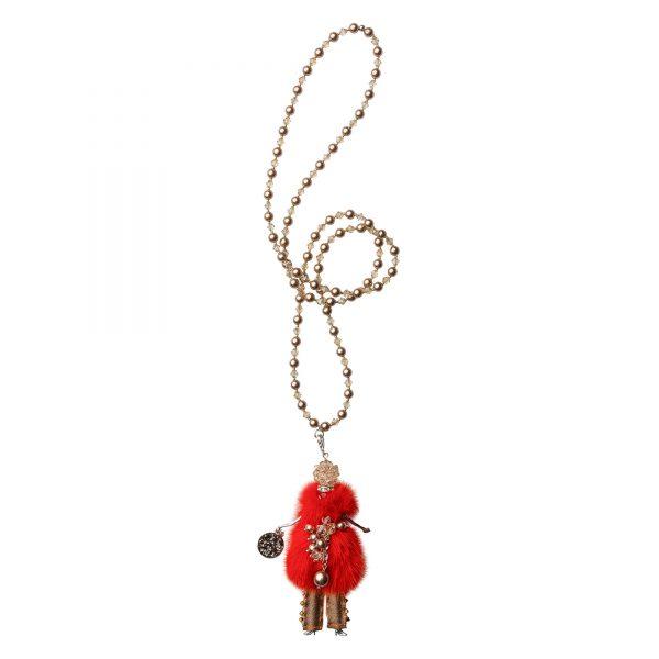 Garciela náhrdelník oranžový
