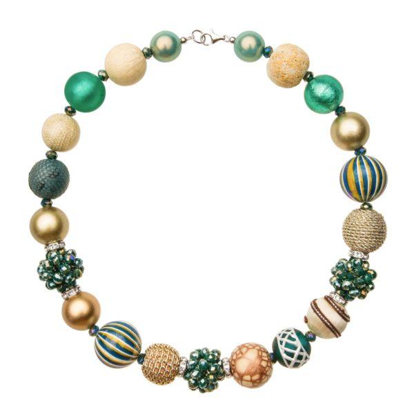 Zelený Summer náhrdelník