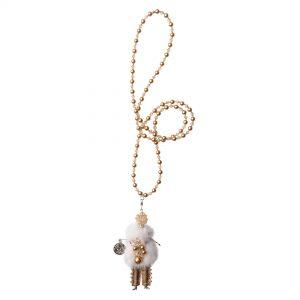 Garciela náhrdelník smotanový