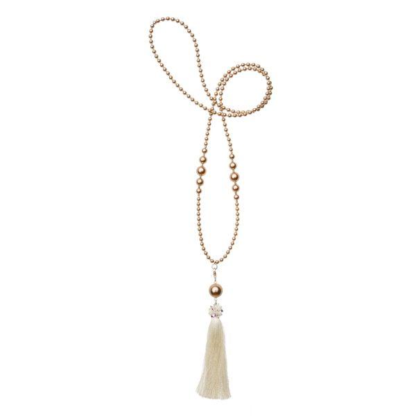 Krémový Diva náhrdelník