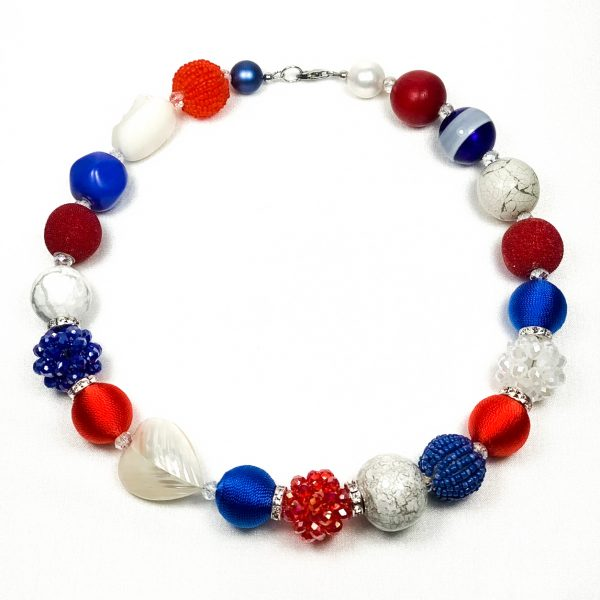 Andrea náhrdelník trikolóra