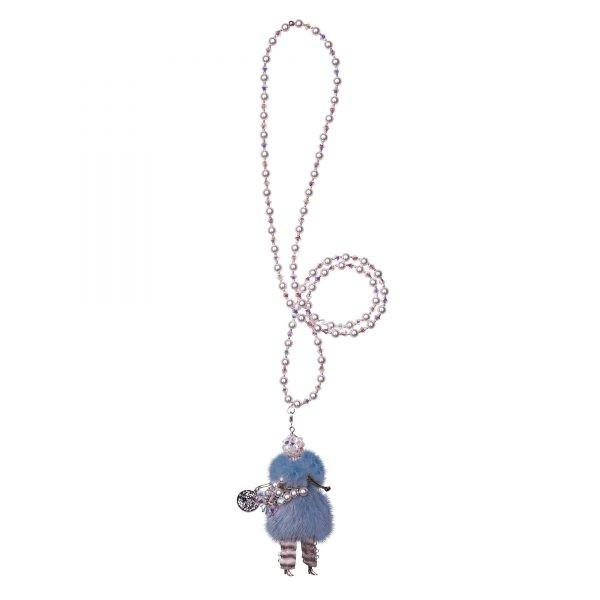Garciela náhrdelník modrý