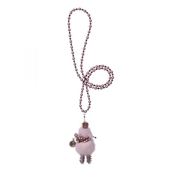 Garciela náhrdelník pudrovo-ružový