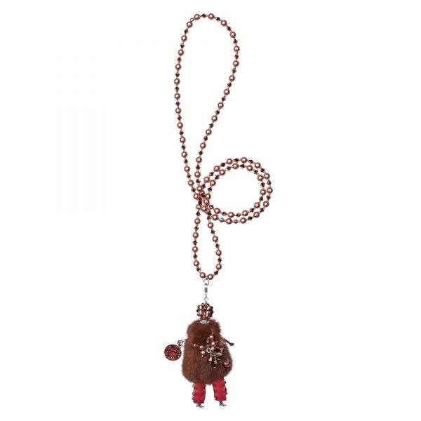 Garciela náhrdelník hnedý