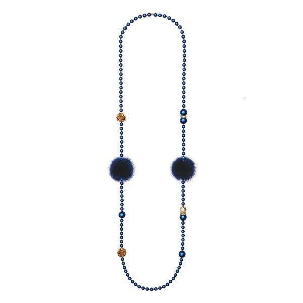 Noemi Duo náhrdelník modrý