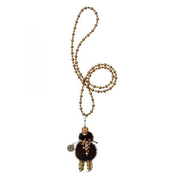 Garciela náhrdelník hnedá